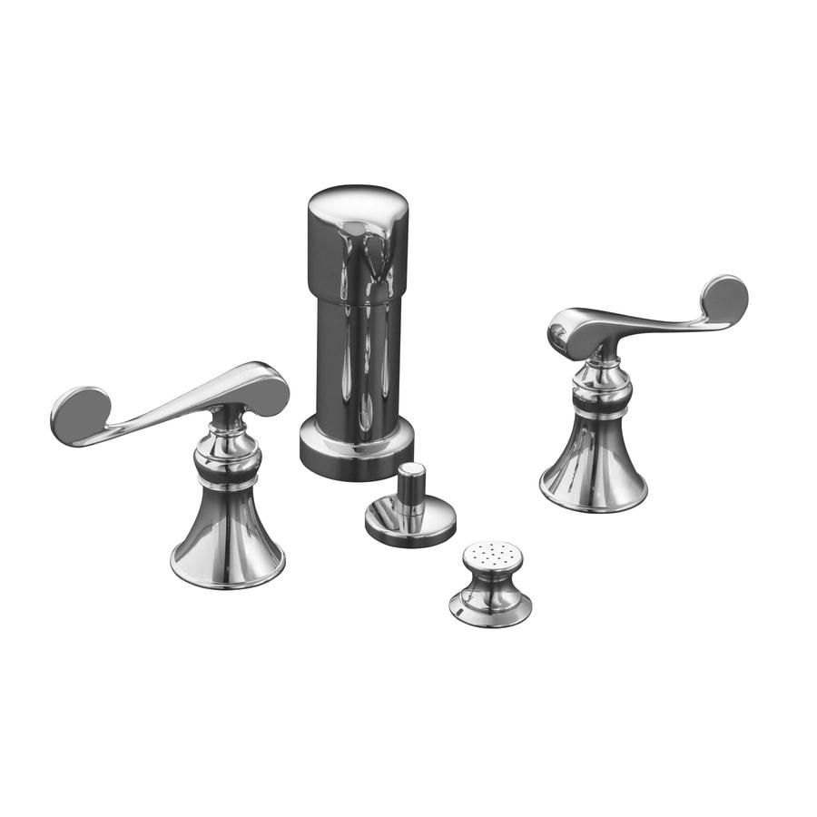 KOHLER Revival Polished Chrome Vertical Spray Bidet Faucet