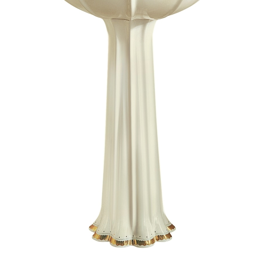 KOHLER Anatole 24.88-in H Biscuit Vitreous China Pedestal Sink Base