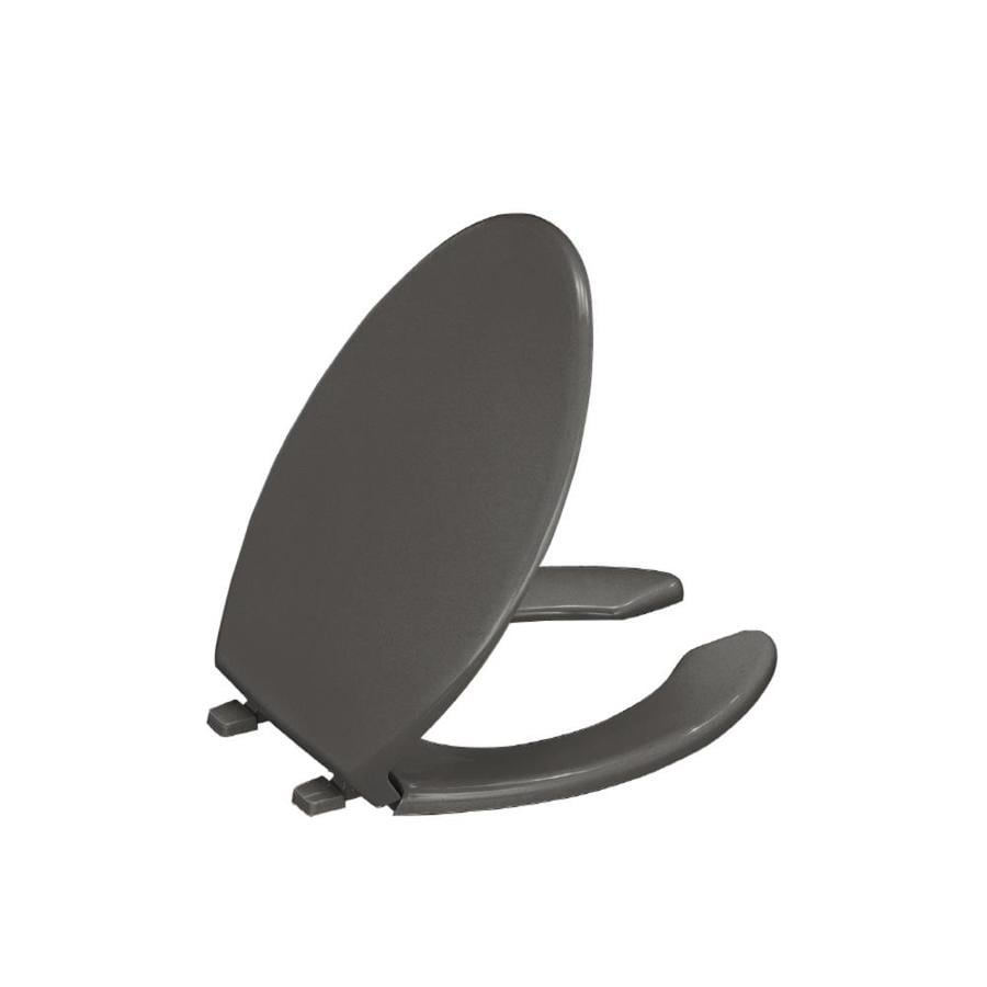 Gray Toilet Seat Cover