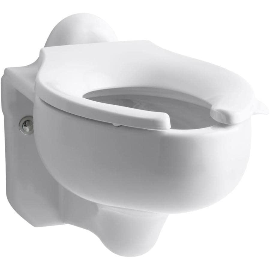 KOHLER Sifton White Elongated Chair Height Toilet Bowl
