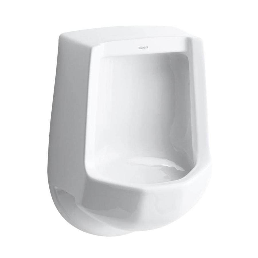 KOHLER 16.25-in W x 24-in H White Wall-Mounted Urinal