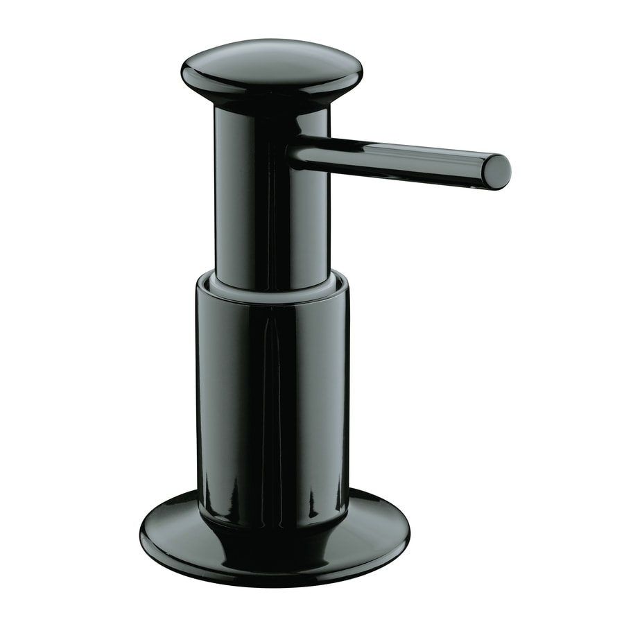 KOHLER Black Black Soap and Lotion Dispenser