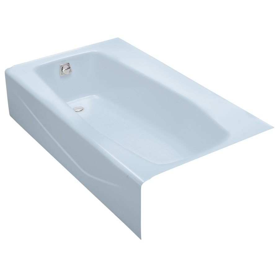 Shop KOHLER 60-in x 34.25-in Villager Skylight Rectangular Skirted ...