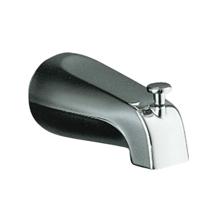 Kohler Chrome Tub Spout With Diverter At Lowes Com