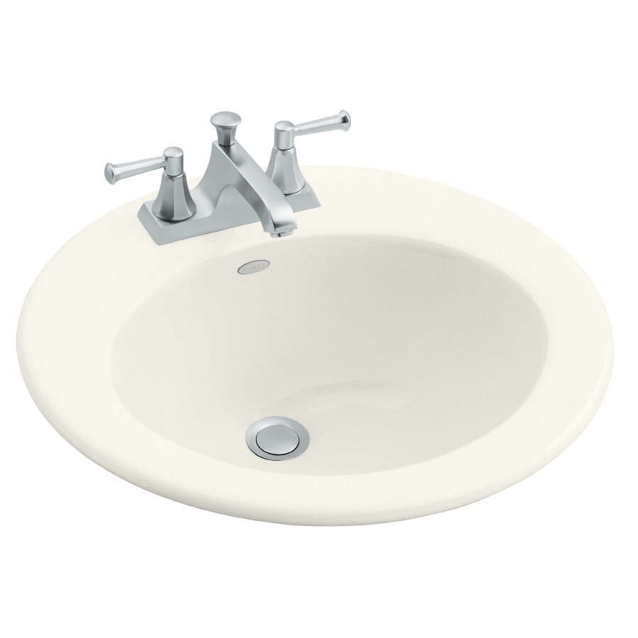 KOHLER Biscuit Cast Iron Bathroom Sink