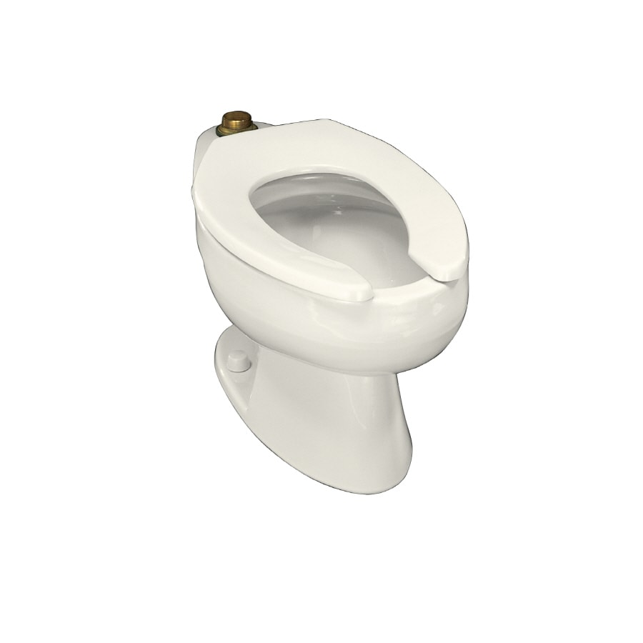 KOHLER Wellcomme Biscuit Elongated Standard Height Toilet Bowl