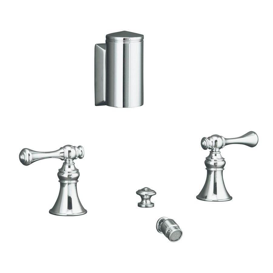 KOHLER Revival Polished Chrome Horizontal Spray Bidet Faucet