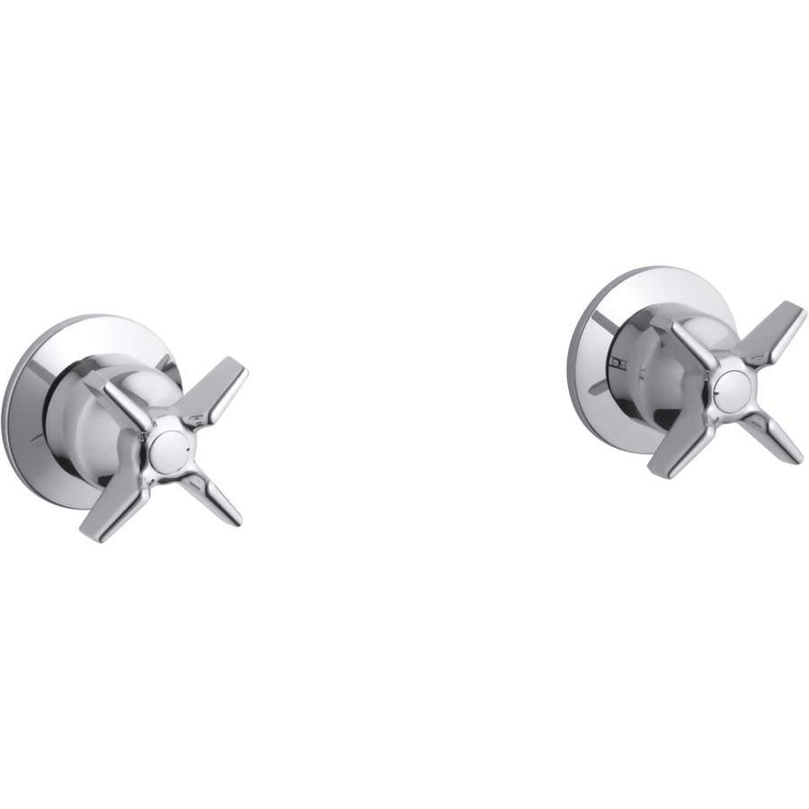KOHLER 2-Pack Chrome Bathtub/Shower Handle