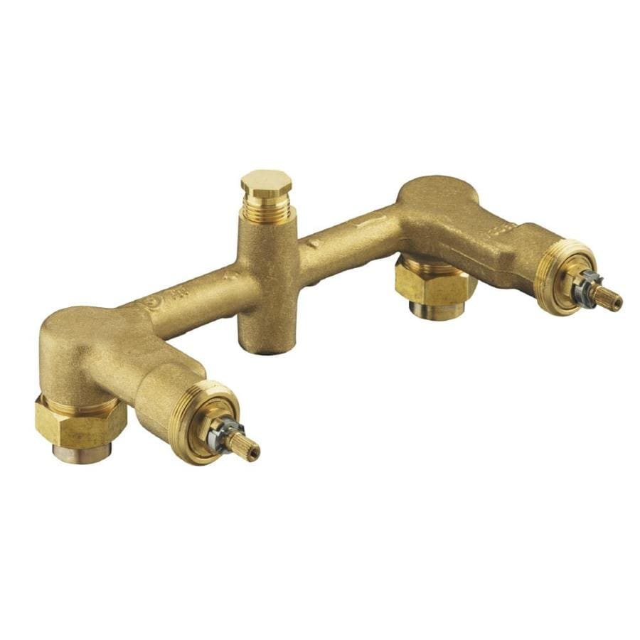Shop kohler in l sweat brass wall faucet valve at