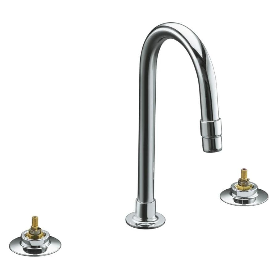 KOHLER Triton Polished Chrome 2-Handle Widespread Bathroom Faucet