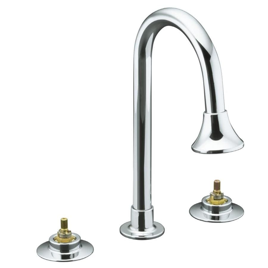 KOHLER Triton Polished Chrome 2-Handle Commercial Bathroom Faucet