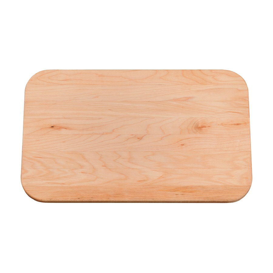KOHLER 8.75-in L x 12.25-in W Wood Cutting Board