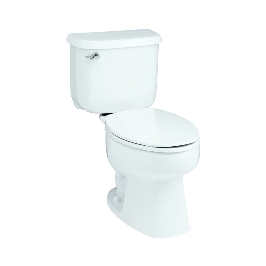 Sterling Windham 1.6-GPF (6.06-LPF) White Round 2-piece Toilet