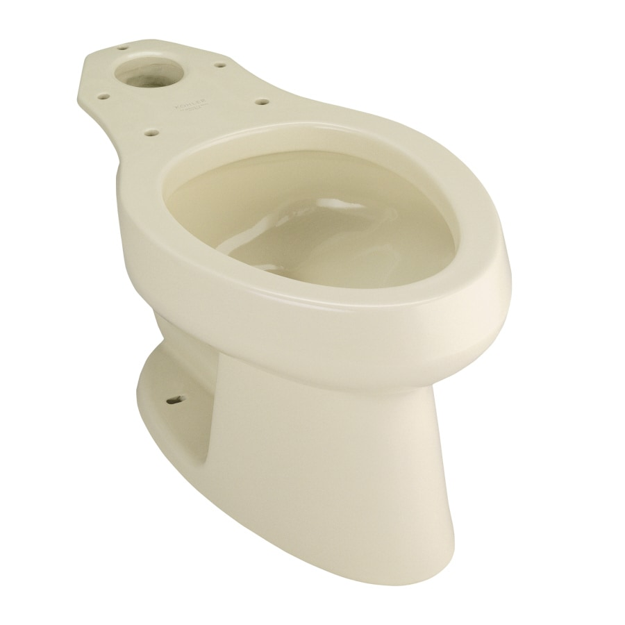 kohler wellworth standard height almond 12in roughin elongated toilet bowl