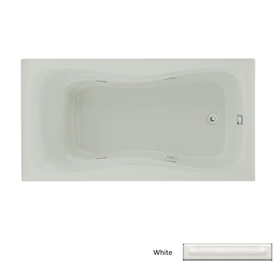 KOHLER Hourglass White Acrylic Hourglass In Rectangle Whirlpool Tub (Common: 32-in x 60-in; Actual: 20.0000-in x 32.0000-in x 60.0000-in)