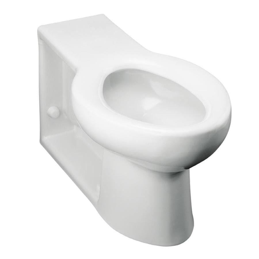 KOHLER Anglesey White Elongated Standard Height Toilet Bowl