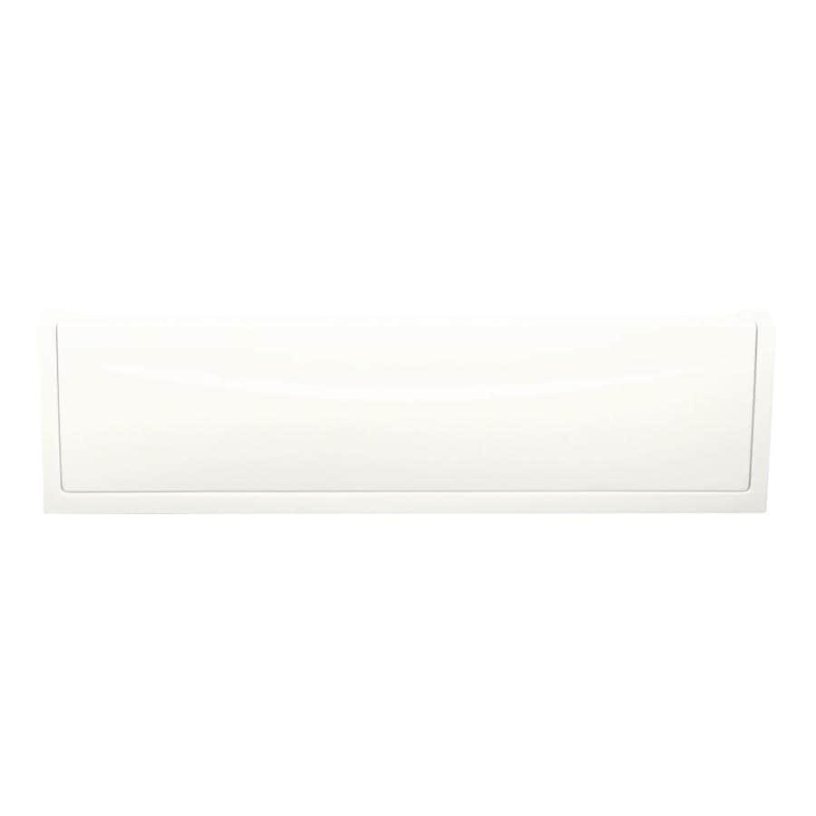 KOHLER White Bathtub Apron
