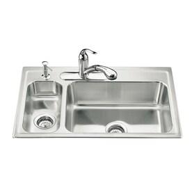 Kohler Stainless Steel Kitchen Sink Terraneg