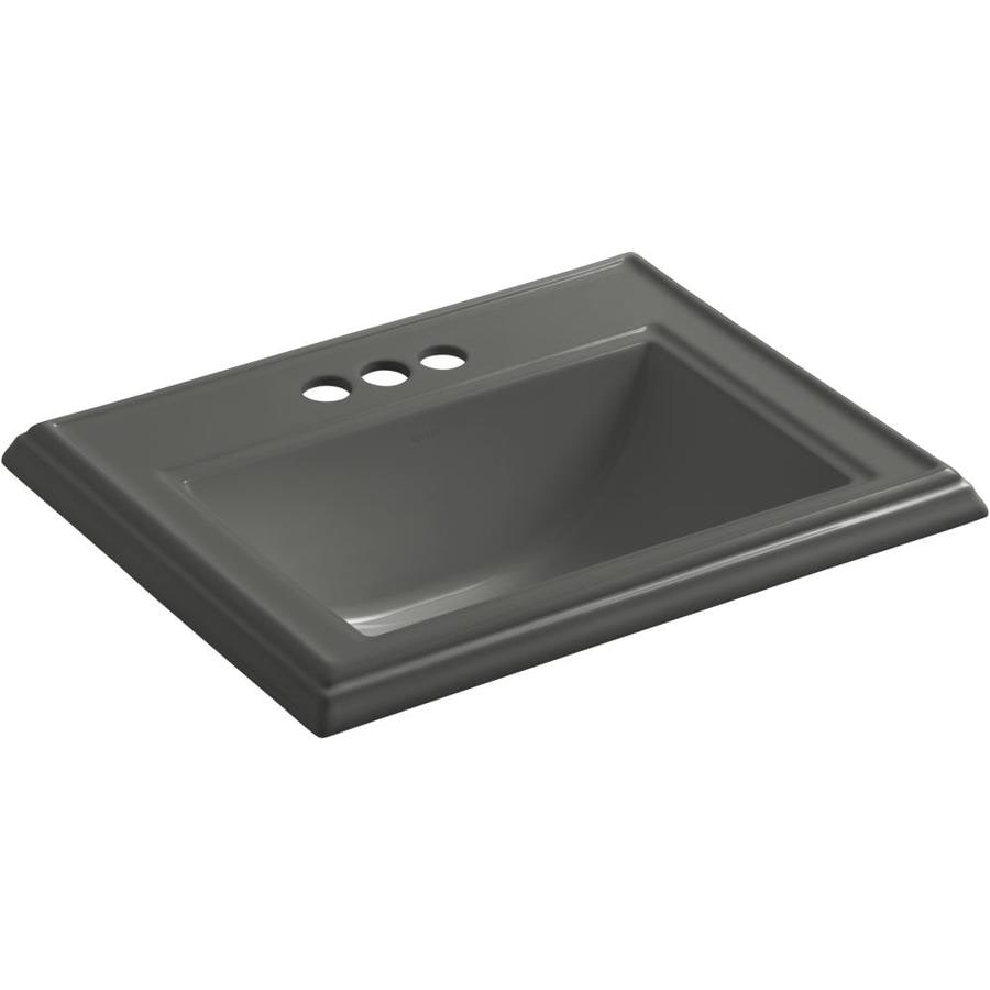 KOHLER Thunder Grey Bathroom Sink