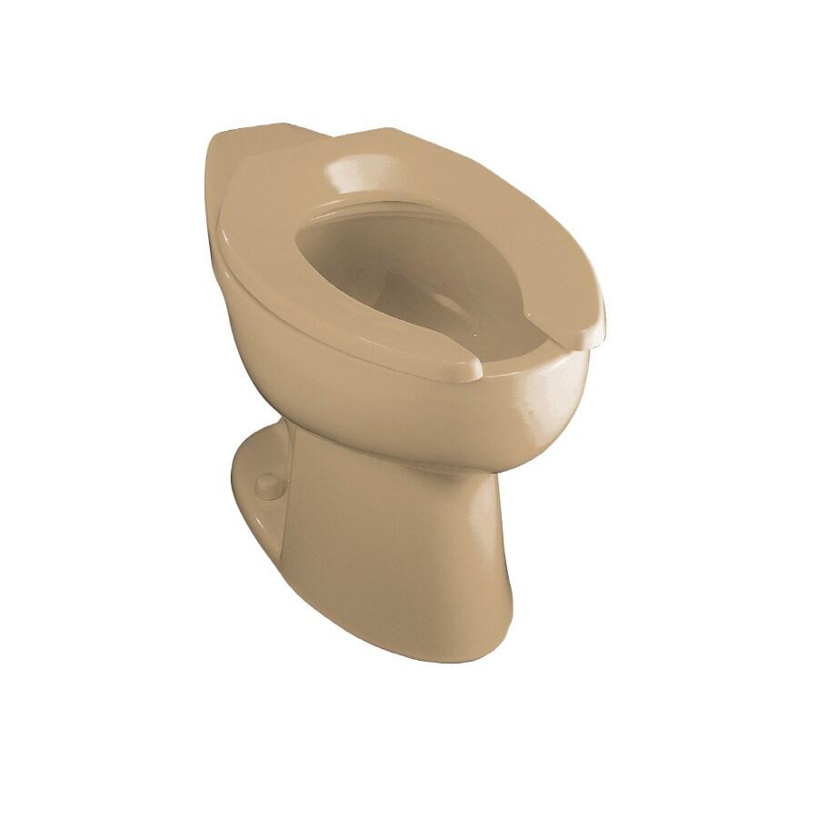 KOHLER Highcrest Mexican Sand Elongated Toilet Bowl