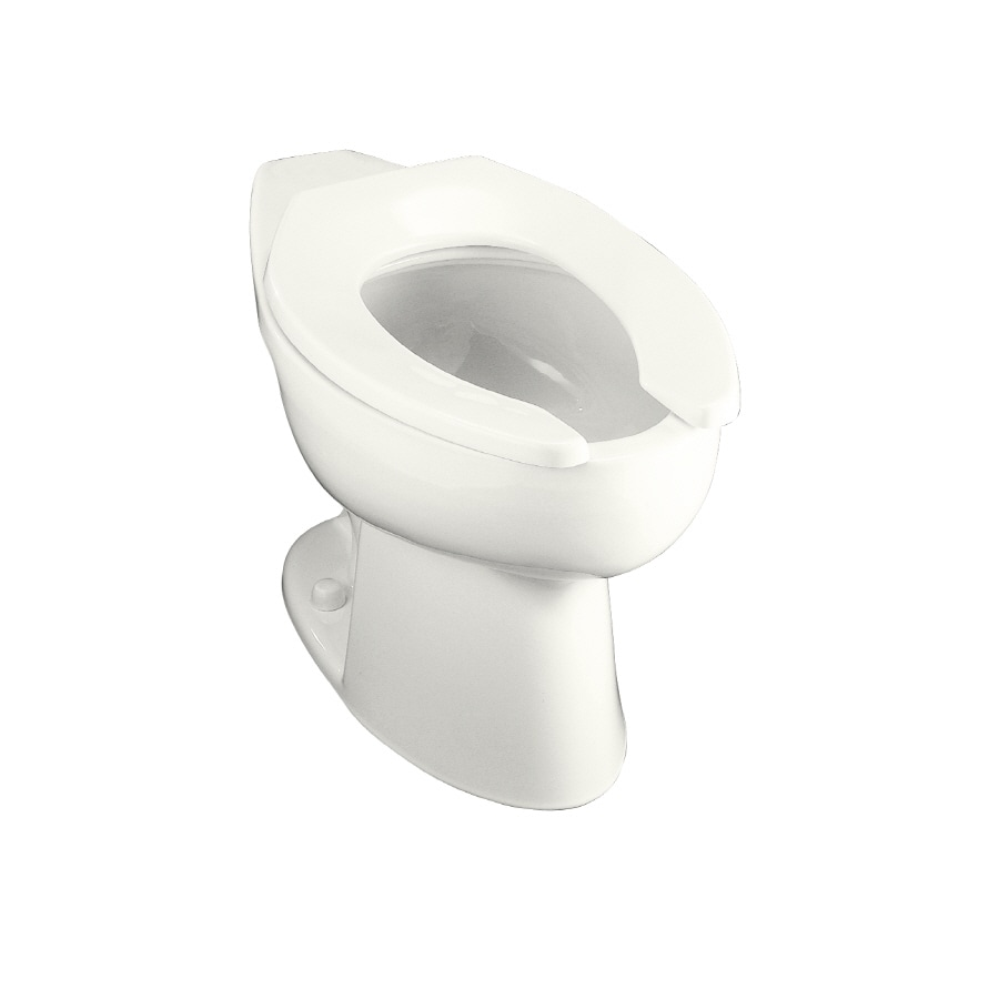 KOHLER Highcrest White Elongated Chair Height Toilet Bowl