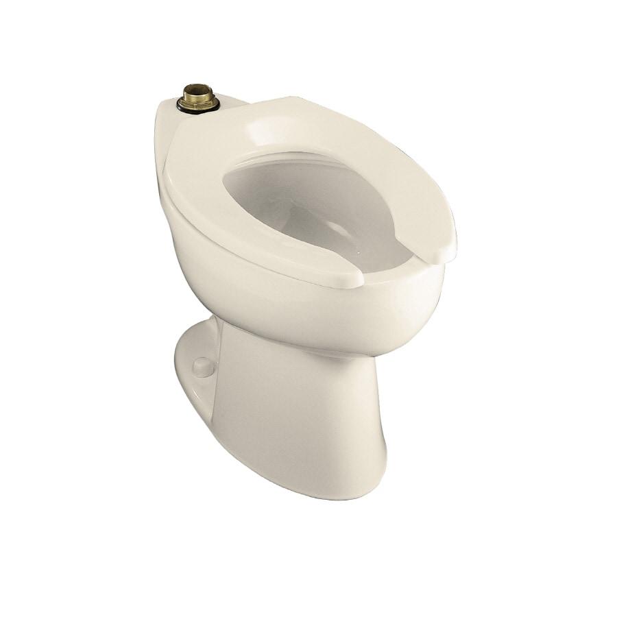KOHLER Highcrest Almond Elongated Chair Height Toilet Bowl