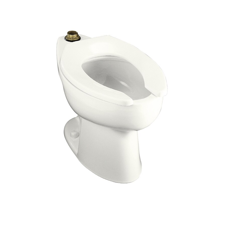 KOHLER Highcrest Chair Height White 10-in Rough-In Elongated Toilet Bowl