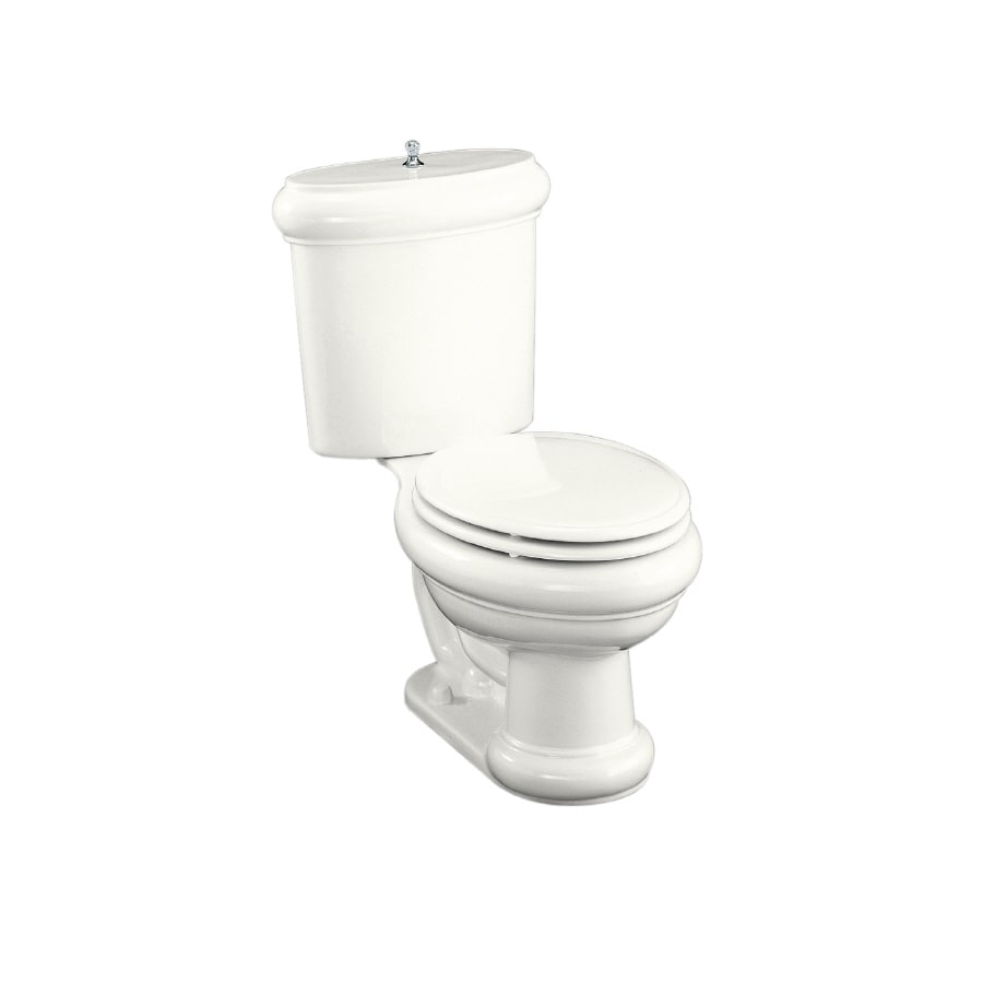 KOHLER Revival White Elongated Toilet