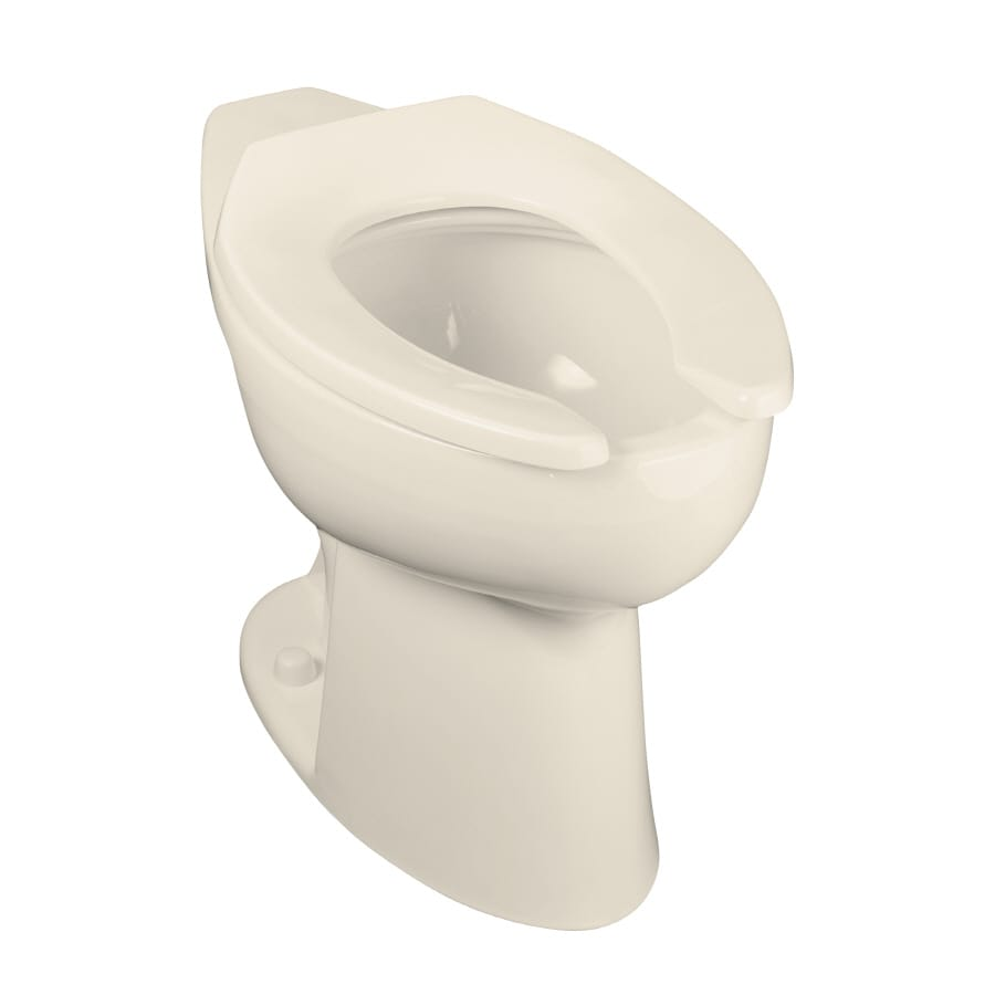 KOHLER Highcliff Almond Elongated Chair Height Toilet Bowl