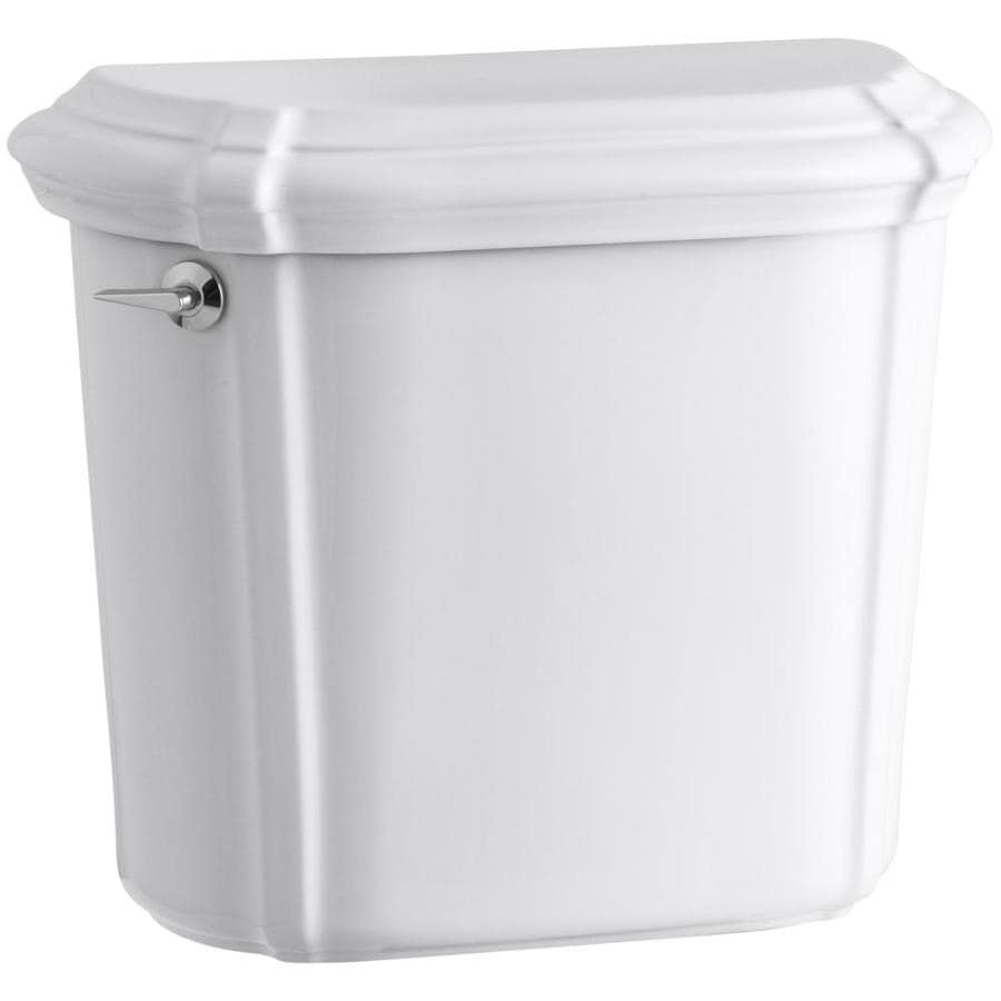 KOHLER Portrait White 1.6-GPF (6.06-LPF) 12-in Rough-In Single-Flush Toilet Tank