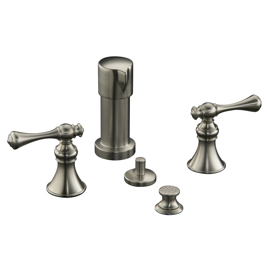KOHLER Revival Vibrant Brushed Nickel Vertical Spray Bidet Faucet