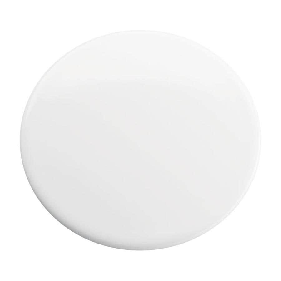 KOHLER White Faucet Hole Cover