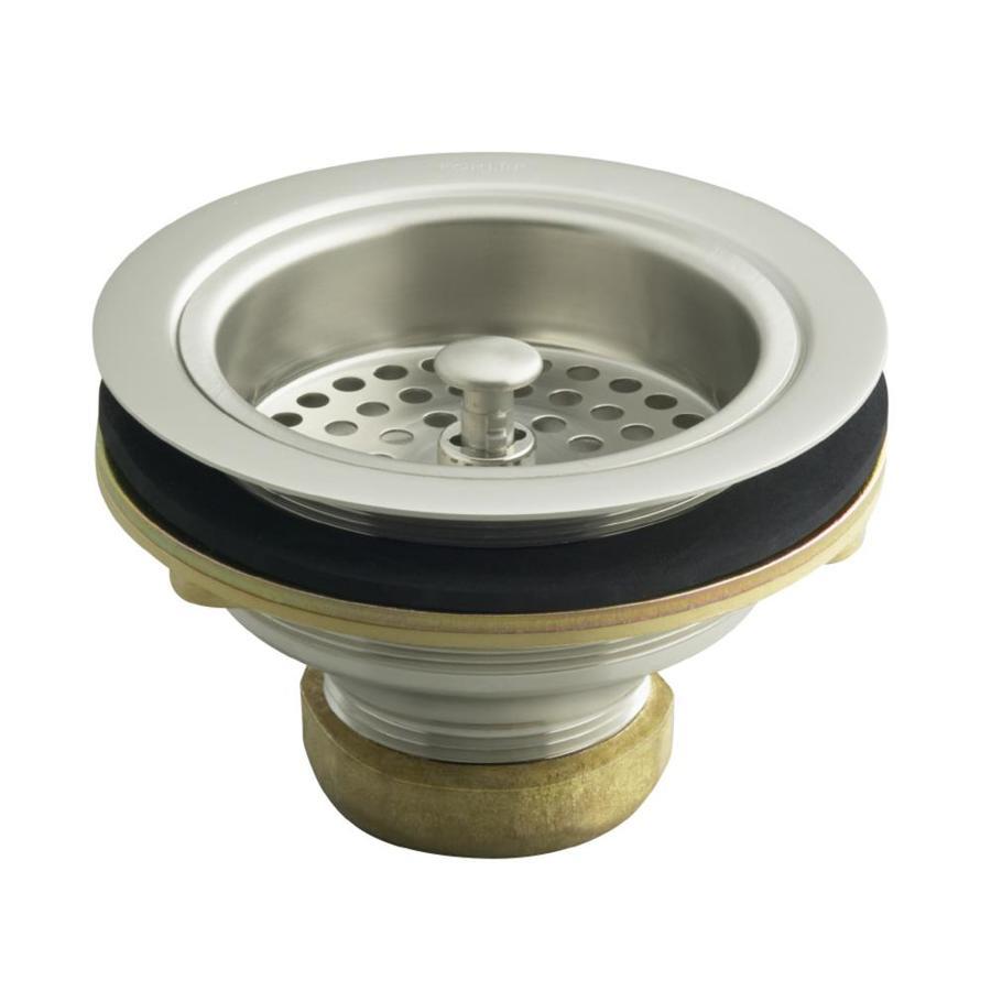 Kohler 4 5 In Vibrant Brushed Nickel Brass Fixed Post