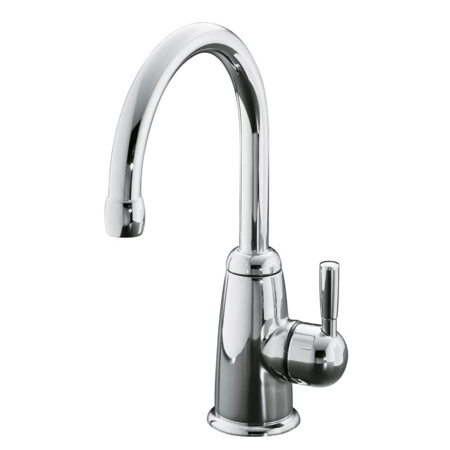 KOHLER Wellspring Polished Chrome 1-Handle Bar and Prep Faucet