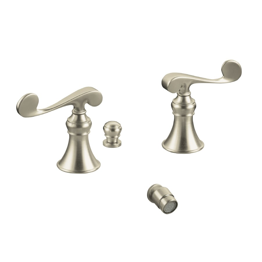 KOHLER Revival Vibrant Brushed Nickel Vertical Spray Bidet Faucet