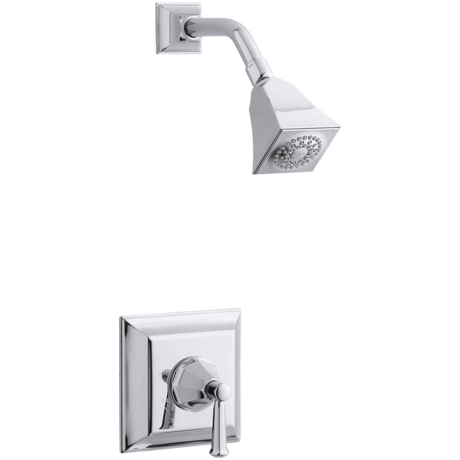 KOHLER Memoirs Polished Chrome 1-Handle Shower Faucet Trim Kit with Single Function Showerhead