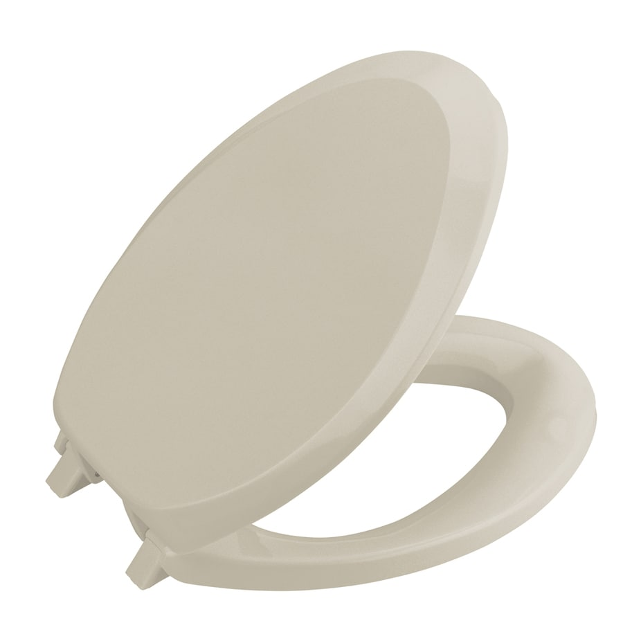 Shop Kohler French Curve Plastic Toilet Seat At Lowes Com