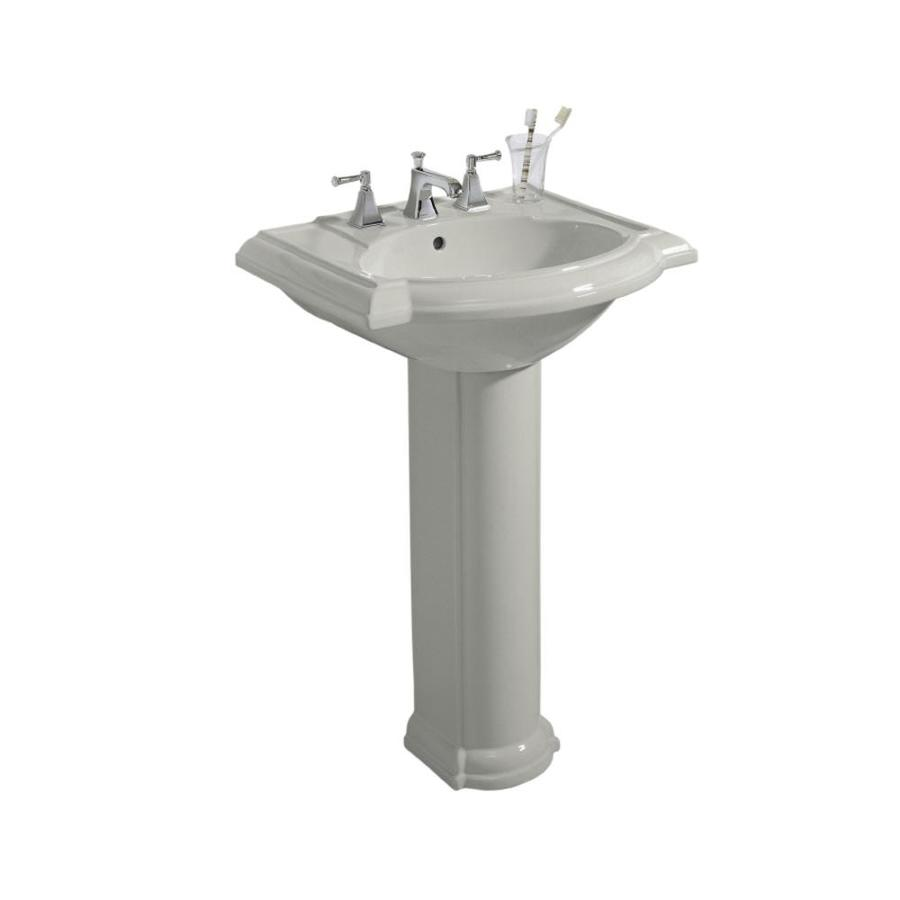 Kohler Devonshire 33 5 In H Ice Grey Vitreous China