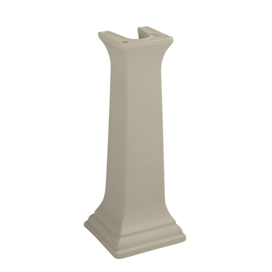KOHLER Memoirs 27.38-in H Sandbar Fireclay Pedestal Sink Base