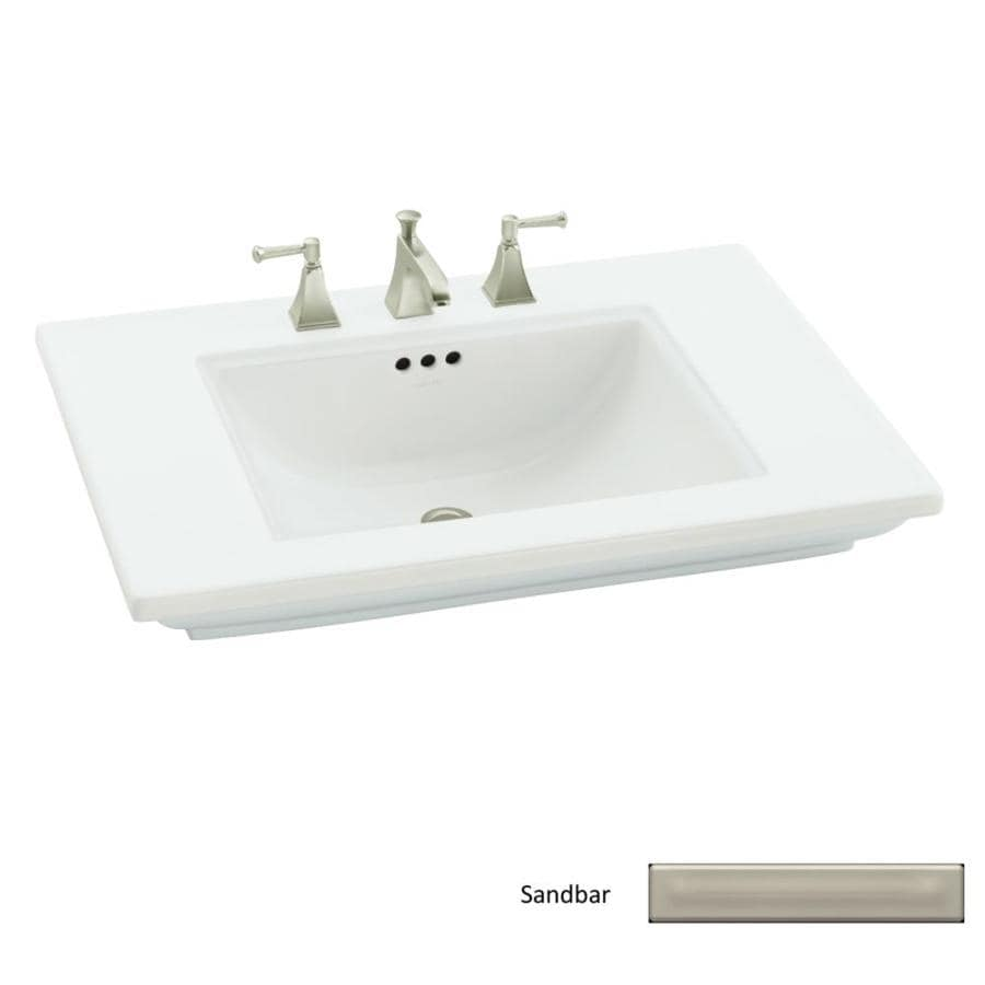 ... KOHLER 30-in L x 21.75-in W Fire Clay Pedestal Sink Top at Lowes.com
