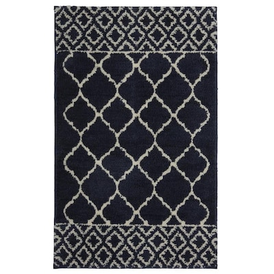 X 21 In Polyester Bath Rug At Lowes
