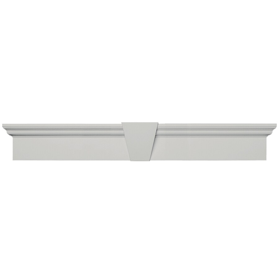 Vantage 37.75-in x 5.9375-in Paintable Vinyl Window Header
