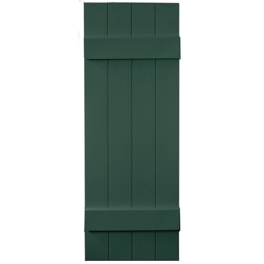 Vantage 2 Pack Midnight Green Board And Batten Vinyl