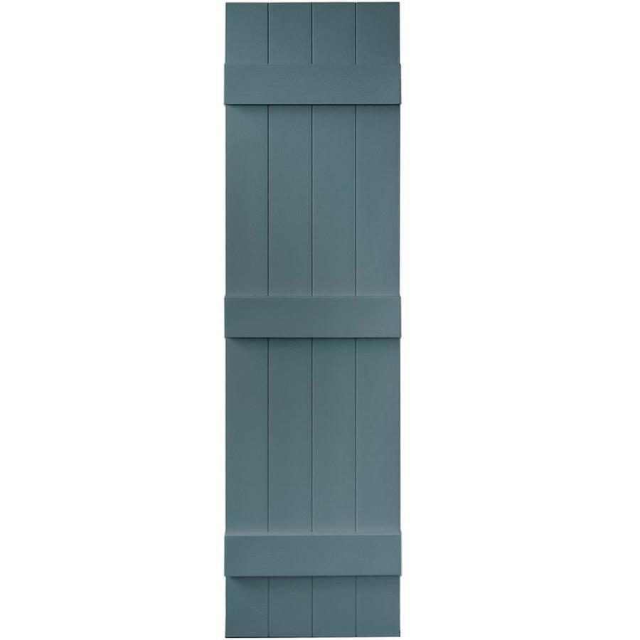Shop Vantage 2-Pack Wedgewood Blue Board and Batten Vinyl Exterior ...