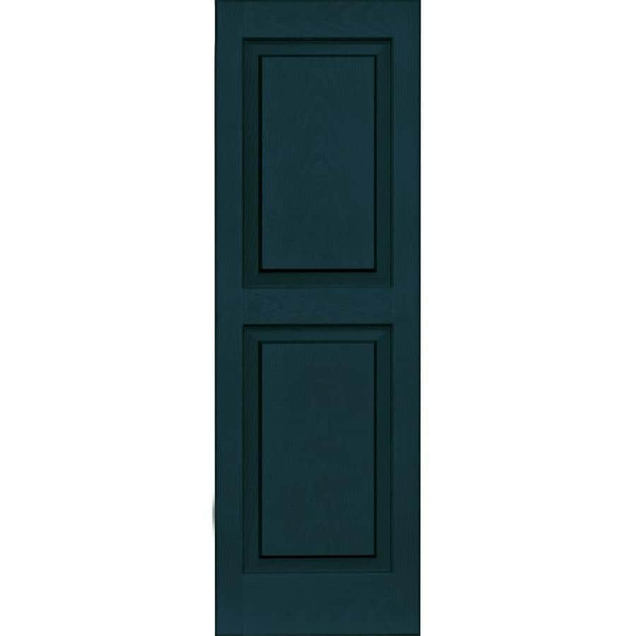 Vantage 2 Pack Indigo Blue Raised Panel Vinyl Exterior