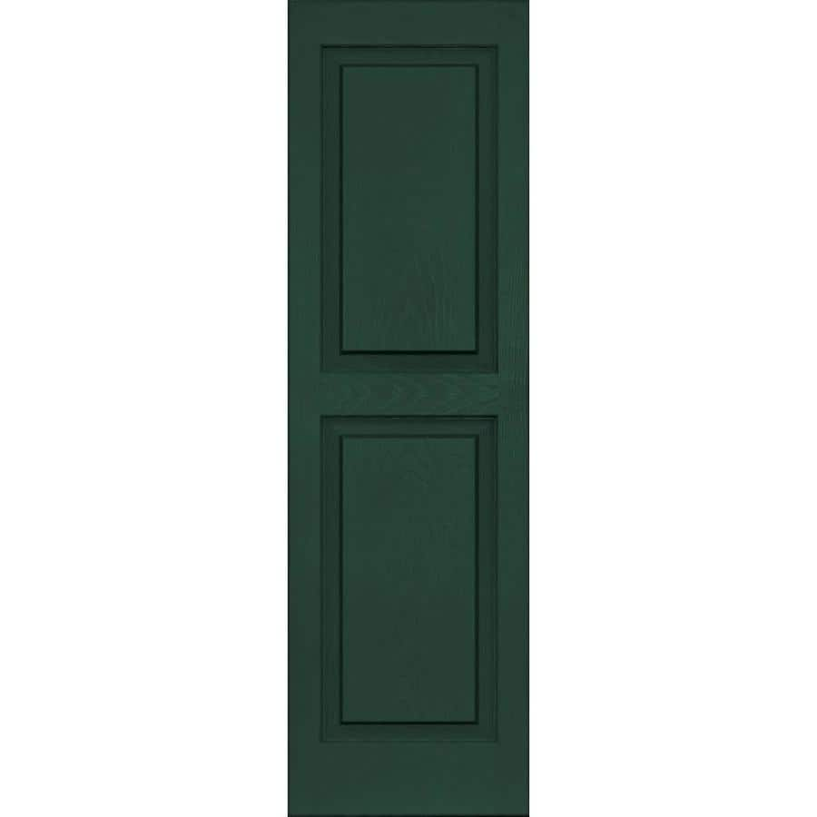 Shop Vantage 2 Pack Midnight Green Raised Panel Vinyl