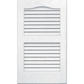window shutters lowes free standing vantage 2pack white louvered vinyl exterior shutters common 14in at lowescom