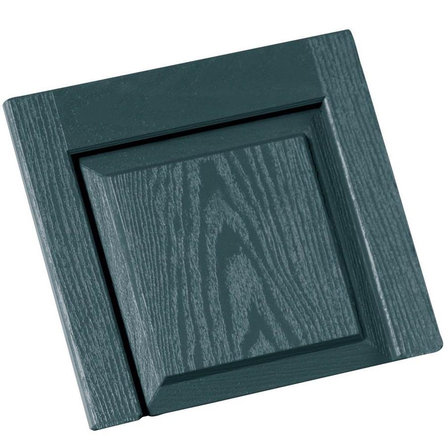 Shop Vantage 2-Pack Wedgewood Blue Vinyl Exterior Shutters (Common ...