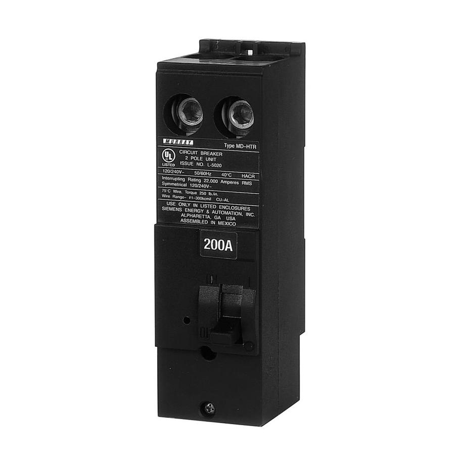 Murray Mp 200 Amp 2 Pole Main Circuit Breaker At Lowes Com