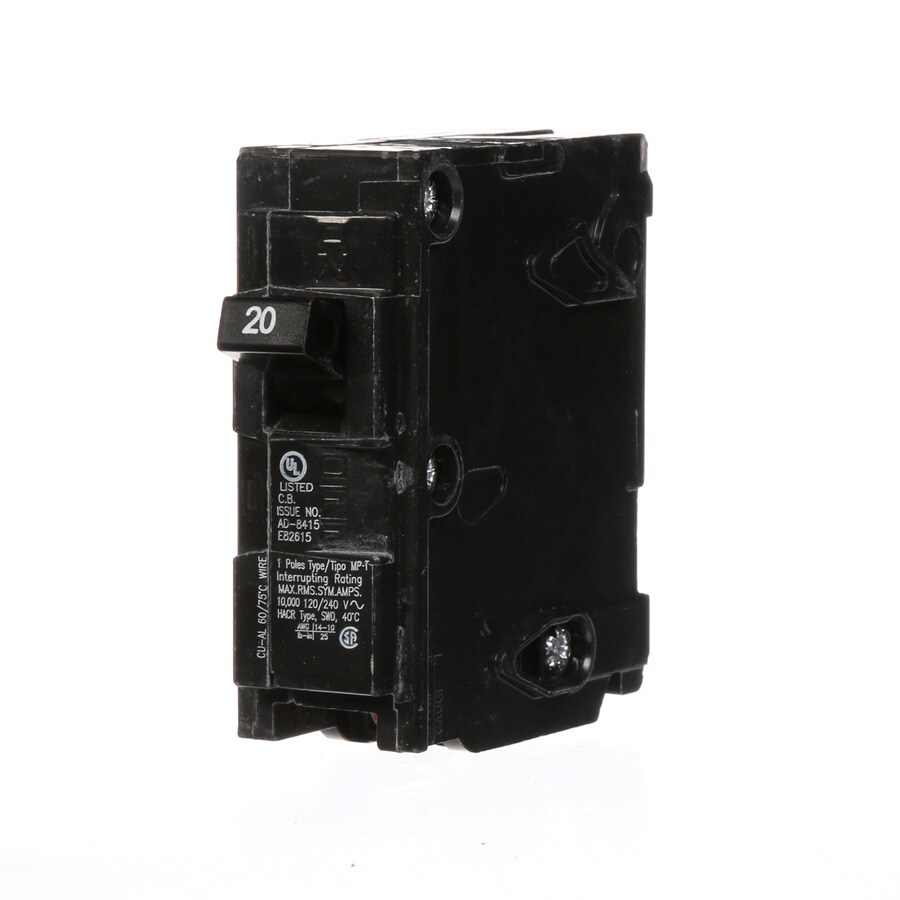 Murray Mp 20 Amp 1 Pole Main Circuit Breaker At Lowes Com